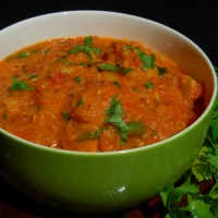 North Indian Cuisine - Makhani Arbi Masala